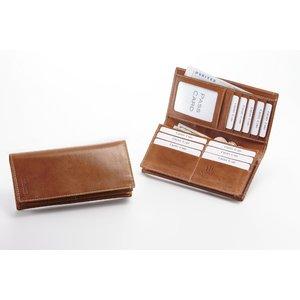 イタリア製ベジタブルタンニングレザー長財布 - 拡大画像