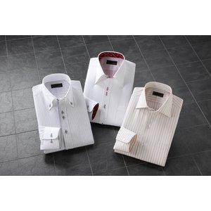2.5ボタンADC長袖ワイシャツ3枚組【レギュラー】【LLサイズ】 - 拡大画像