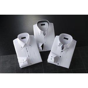 2.5ボタンADCドレスシャツ3枚セット【Mサイズ】 - 拡大画像