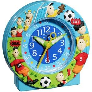 子供用目覚まし時計 ベビーウォッチ サッカーアラームクロック - 拡大画像