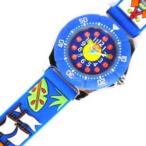 子供用腕時計 ベビーウォッチ ジップザップ 海賊 - 拡大画像