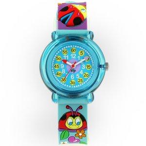 子供用腕時計 ベビーウォッチ ジップザップ てんとう虫  - 拡大画像