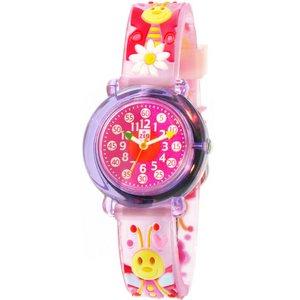 子供用腕時計 ベビーウォッチ ジップザップ 蝶ちょ - 拡大画像