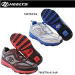 hys-006 【HEELYS/ヒーリーズ】ローラーシューズ Swift スイフト 7855 ブラック/レッド 25cm