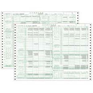 東京ビジネス 合計残高試算表 (一般・科目印刷) CG100600 1冊(50セット) h01