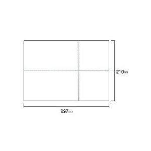 トッパンフォームズEIAJ標準納品書A4ヨコ白紙EIAJ-021箱(2000枚)