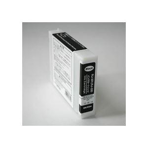 武藤工業 インクカートリッジ ブラック 110ml RJ3-INK-BK 1個 h01