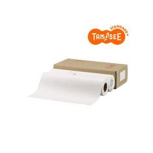 TANOSEE PPC・LEDプロッタ用普通紙ロール A0(841mm×150m) テープ止 2本入