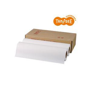 TANOSEE PPC・LEDプロッタ用普通紙ロール A3(297mm×150m) テープ止め 1箱(4本) h01