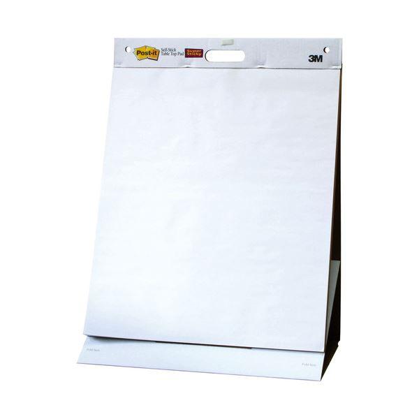 (まとめ) 3M ポストイット イーゼルパッド テーブルトップタイプ 584×508mm ホワイト EASEL 563 1冊 ×2セット