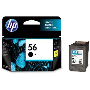 HP56 プリントカートリッジ 黒 C6656AA#003 1個 【×3セット】 h01