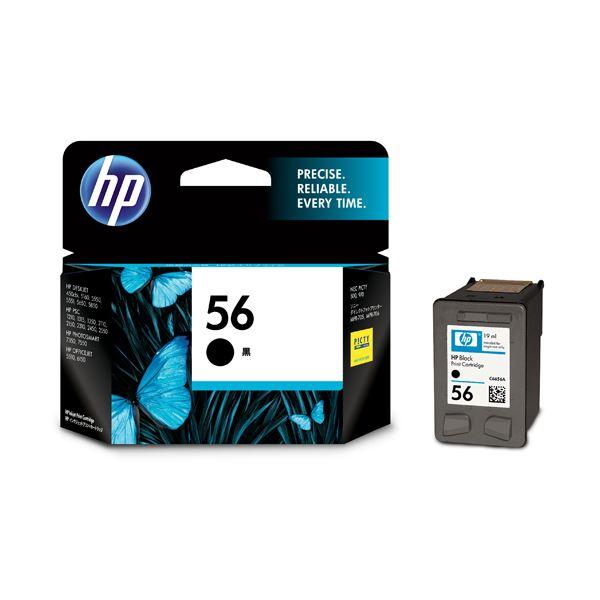 HP56 プリントカートリッジ 黒 C6656AA#003 1個 【×3セット】f00