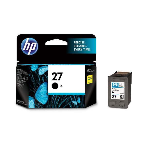 HP27 プリントカートリッジ 黒 C8727AA#003 1個 【×3セット】f00