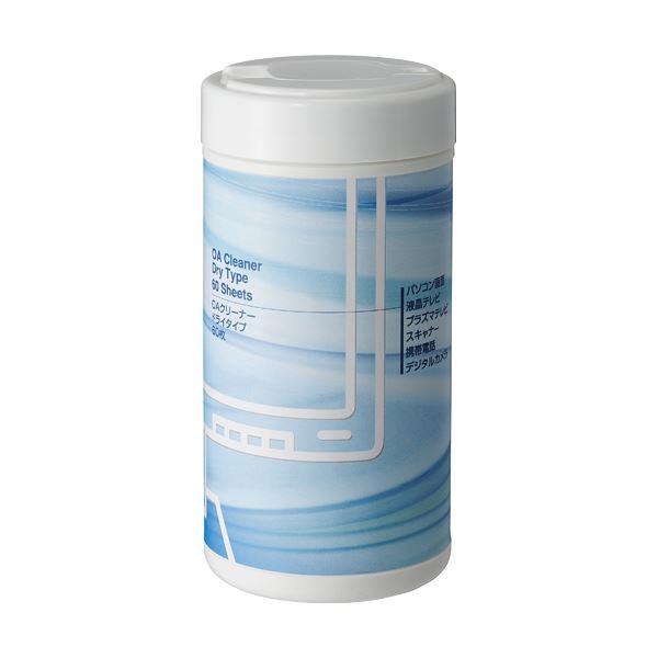 TANOSEE OAクリーナー ドライティッシュ ボトル 1個(60枚) 【×5セット】f00