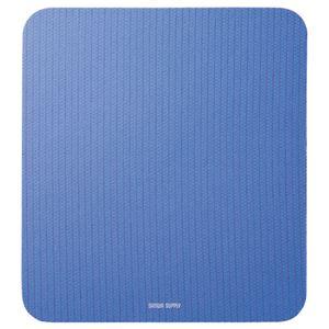 (まとめ) サンワサプライ 静電気除去マウスパッド ブルー MPD-SE1BL 1枚 【×5セット】