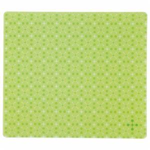 TANOSEE ECOマウスパッド ライトグリーン 1枚 【×5セット】 h01