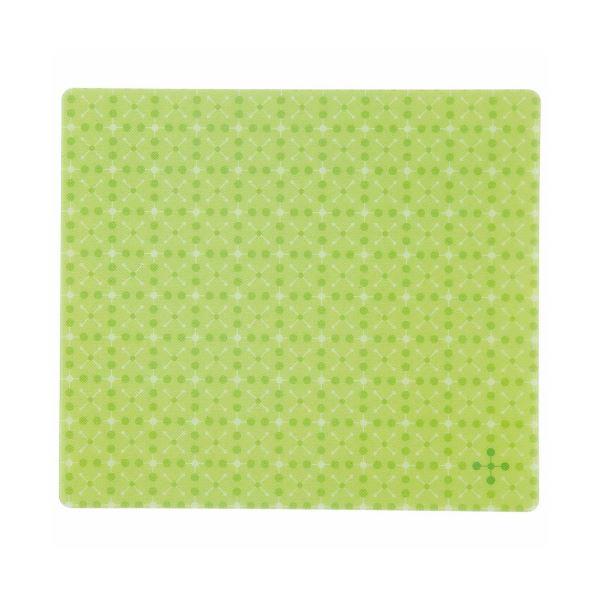 TANOSEE ECOマウスパッド ライトグリーン 1枚 【×5セット】f00