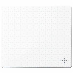TANOSEE ECOマウスパッド ホワイト 1枚 【×5セット】 h01