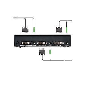【訳あり・在庫処分】サンワサプライ フルHD対応DVIディスプレイ分配器 2分配 VGA-DVSP2 1台