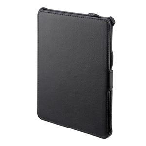 iPad mini用ソフトレザーケース ブラック - 拡大画像