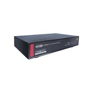 100BASE-TX/10BASE-T 8ポートスイッチングハブ メタル筐体 電源内蔵
