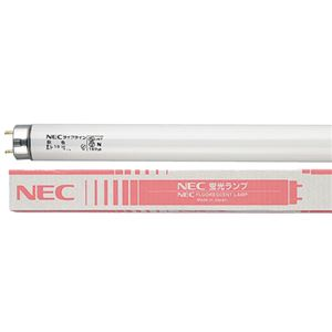 (まとめ)NEC蛍光ランプライフライン直管グロースタータ形20W形白色FL20SSW18/4K-L1パック(4本)【×3セット】