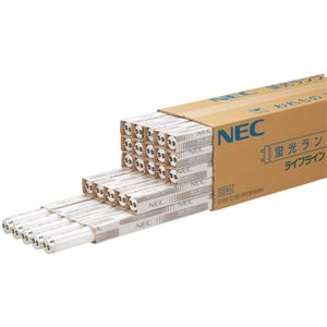 (まとめ)NEC蛍光ランプライフライン直管グロースタータ形20W形昼光色FL20SSD18/4K-L1パック(4本)【×3セット】