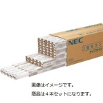 NEC 蛍光ランプ ライフライン 直管グロースタータ形 10W形 昼光色 FL10D/4K-L 1パック(4本)