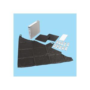 非常用トイレ<防災の達人> 10枚重ね3セットタイプ(30回分) DRK-NT30 - 拡大画像