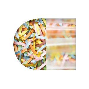 (まとめ) TANOSEE シュレッダーバッグエコノミー 半透明 Mサイズ BOXタイプ 1箱(100枚) 【×5セット】