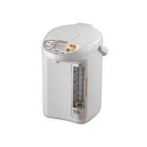 象印 マイコン沸とう電動ポット 5.0L グレー...の商品画像