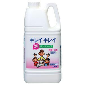 (まとめ) ライオン キレイキレイ 薬用泡ハンドソープ 業務用 2L 1個 【×2セット】