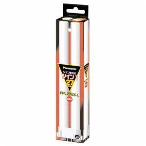 (まとめ)パナソニックツイン蛍光灯ツイン127W形電球色FPL27EX-L(1個)【×6セット】