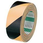 (まとめ) オカモト 布トラテープ 50mm×25m 黄/黒 No.111トラ 1巻 【×5セット】