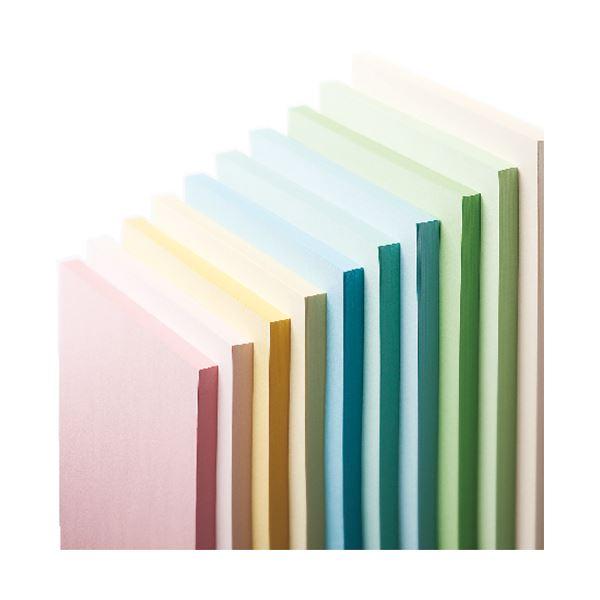 長門屋商店 Color Paper A3 特厚口 水 ナ-1410V 1冊(100枚) 【×4セット】f00