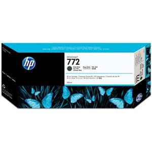 【訳あり・在庫処分】(まとめ) HP772 インクカートリッジ マットブラック 300ml 顔料系 CN635A 1個 【×3セット】
