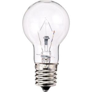 (まとめ)TANOSEEミニクリプトン電球60W形E17口金クリアタイプ1パック(6個)【×3セット】