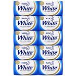 (まとめ) 花王 ホワイト 石鹸(包装デザイン) 85g/個 1箱(10個) 【×4セット】
