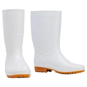 (まとめ) 川西工業 耐油衛生長靴 ホワイト 24.5cm 8300ホワイト24.5 1足 【×3セット】