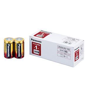 (まとめ) パナソニック アルカリ乾電池 単1形...の商品画像