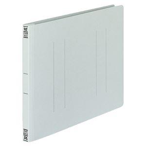 (まとめ)コクヨフラットファイルV(樹脂製とじ具)A4ヨコ150枚収容背幅18mmグレーフ-V15M1パック(10冊)【×5セット】