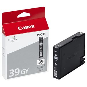 【訳あり・在庫処分】(まとめ) キヤノン Canon インクタンク PGI-39GY グレー 4859B001 1個 【×3セット】