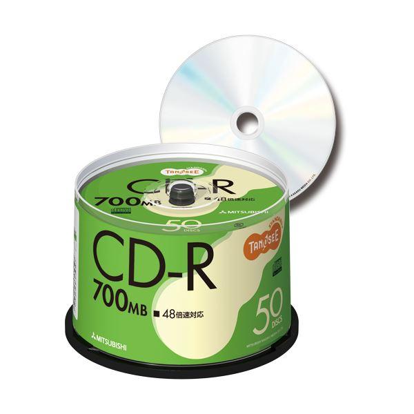 TANOSEE データ用CD-R 700MB 48倍速 スピンドルケース SR80FC50T 1パック(50枚) 【×3セット】f00