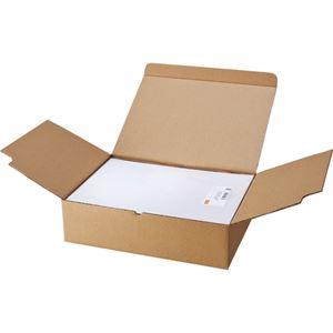 TANOSEE マルチプリンターラベル 業務用パック A4 4面 105×148.5mm 1箱(500シート:100シート×5冊) 【×2セット】 h01