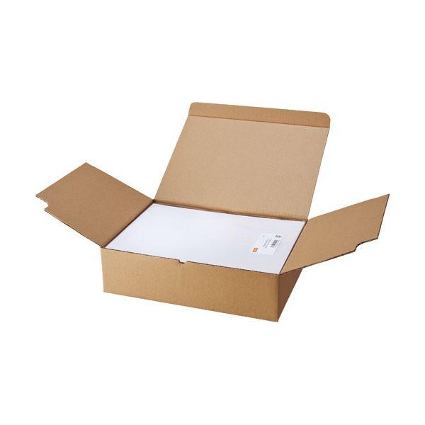 TANOSEE マルチプリンターラベル 業務用パック A4 4面 105×148.5mm 1箱(500シート:100シート×5冊) 【×2セット】f00