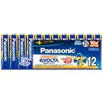 (まとめ) パナソニック アルカリ乾電池 EVOLTA 単4形 LR03EJ/12SW 1パック(12本) 【×3セット】
