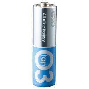 (まとめ)TANOSEEアルカリ乾電池プレミアム単3形1箱(20本)【×5セット】