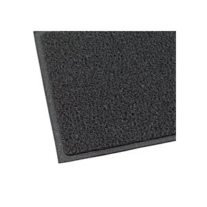 テラモト 玄関マット ケミタングルソフト 屋外用 900×600mm ブラック MR-981-240-8 1枚 - 拡大画像