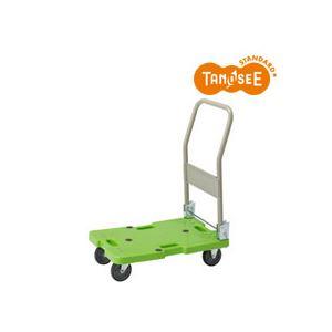 TANOSEE樹脂運搬車(キャスター標準)W400×D600×H775mm120kg荷重1台