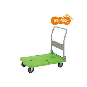 TANOSEE樹脂運搬車(キャスター標準)W600×D900×H858mm220kg荷重1台